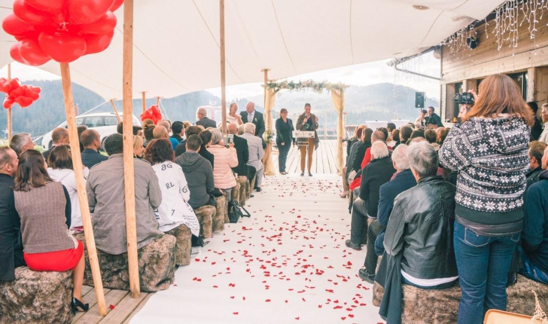 Mariage à La Clusaz