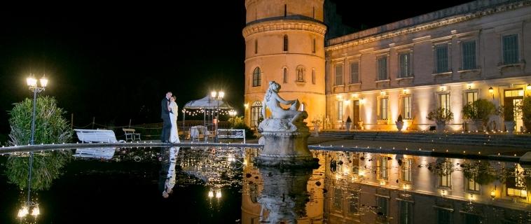 Mariage en hiver au Château de Barbegal