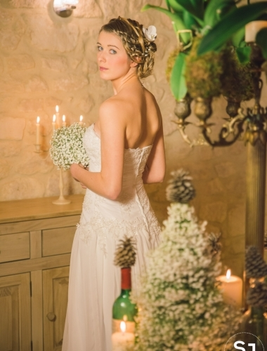 Shooting Inspiration Mariage un Hiver Provence