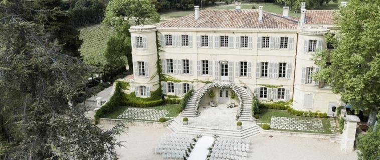 Mariage en Provence – Château d'Estoublon